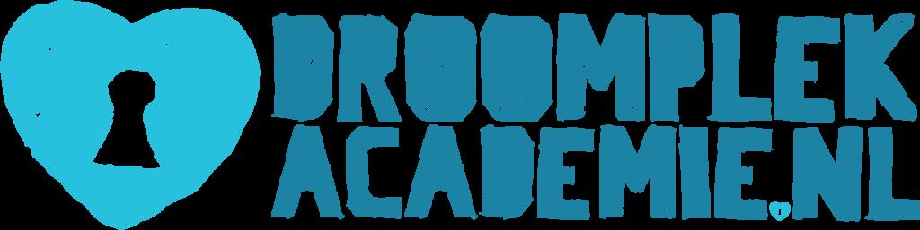 gekleurd logo met hartje voor DroomplekAcademie.nl