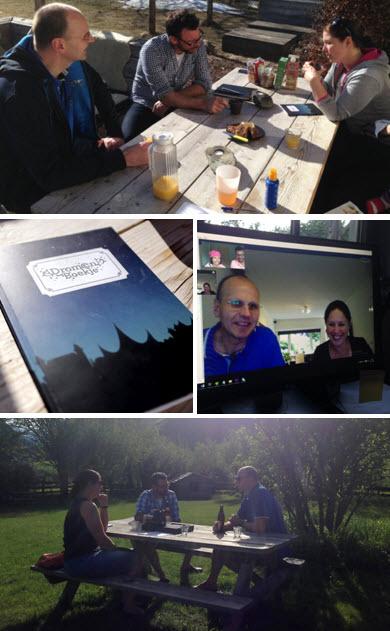 voorbereidingen in het geheim Patrick en Mirjam Proefhotel.nl