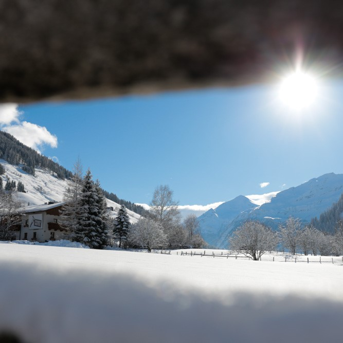 De Berghut Proefhotel in Oostenrijk wintersport vierkant Rauris