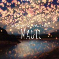 Ik voel overal magie