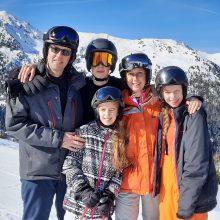 Michiel, Rianne+kids