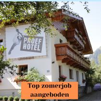 Top-zomerjob: 2 allround medewerkers gezocht voor Proefhotel